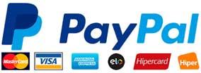 Pague co PayPal com toda Segurança