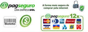 Pagamento com PagSeguro em até 12 vezes
